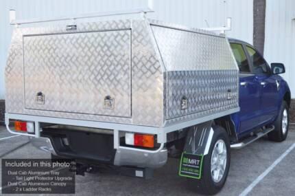 Brand New Aluminium Dual Cab Canopies Shipped to Mackay