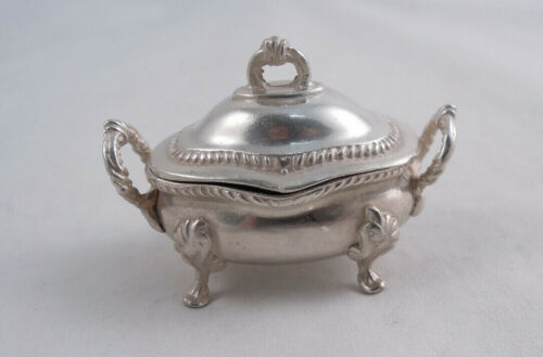 STERLING SILVER MINIATURE TUREEN DOLLHOUSE