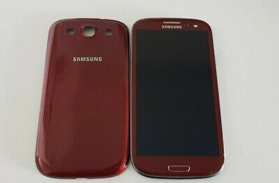 Original LCD Samsung Galaxy S3 i9300 Digitizer Touch Screen + Frame + Back Cover Samsung Lcd Back Cover