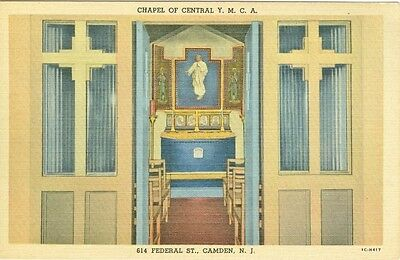 Camden  Nj The Chapel Of The Central Y M C A  At 614 Federal Street