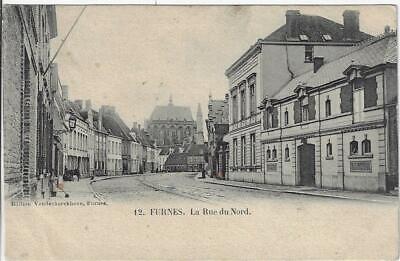 Veurne Furnes La Rue du Nord vóór Wereldoorlog I Begin 1900