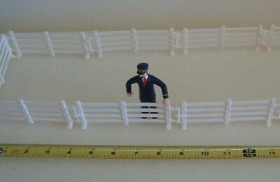 G-scale Interlocking Fencing 6 Sections For Farm Corral Scene or House Fence