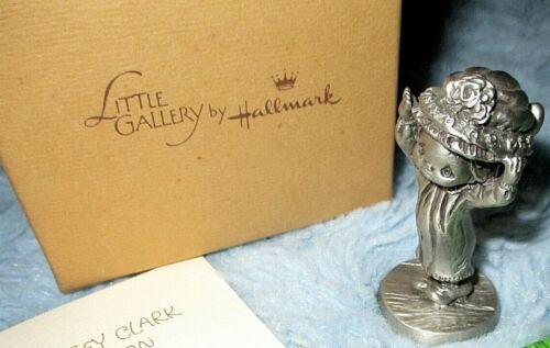 Hallmark 1982 Betsey Clark BRIMMING WITH JOY Unruh Mini Pewter Figurine NIB