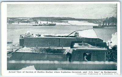 HALIFAX HARBOR, Nova Scotia Canada  Where Explosion Occurred