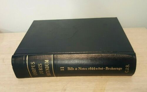 Corpus Juris Secundum- Volumes 11 Thru 20