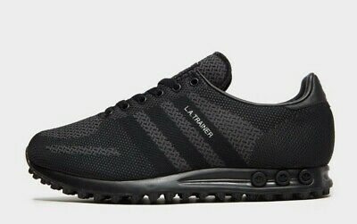 "adidas LA Trainer Woven ""Triple Black"" Men's Trainer Limited Edition All Sizes"