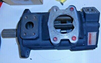 International Fluid Power 2520v21a14-25ccl Tandem Vane Hydraulic Pump Low Noise