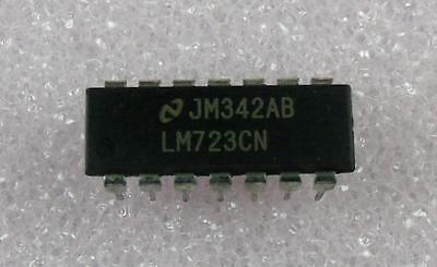 Lm723cn Adjustable Voltage Regulator Dip-14  5pcs Per Lot