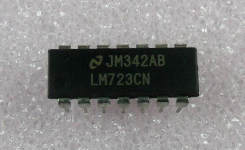 LM723CN : Adjustable Voltage Regulator : DIP-14  : 5pcs per lot