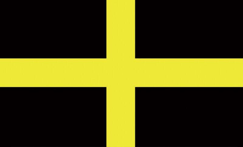 5ft x 3ft Flag - Wales - St David Cross