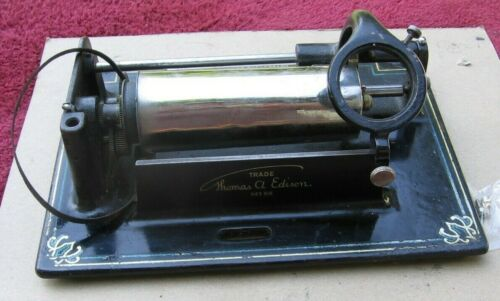 Edison Fireside Model A Combination Type Cylinder Phonograph Bedplate ~Stock f