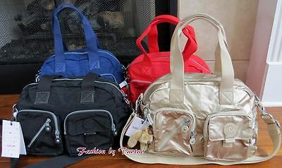 New with Tag Kipling Defea Handbag Crossbody Bag with Furry Monkey