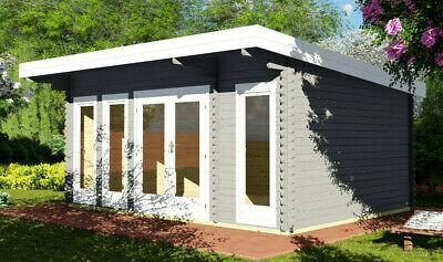 Log Cabin/ Garden Office Man Cave Or Studio 5.1mx3.9m/40mm
