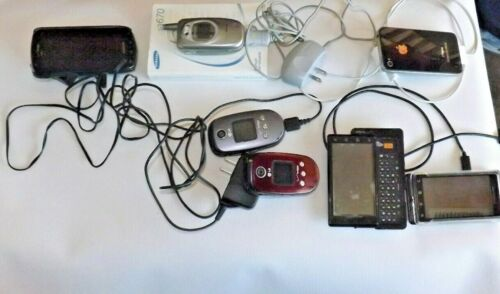 LOT of 7 Older Cell Phones that Work!!! Samsung, LG, Apple, Motorola Androids