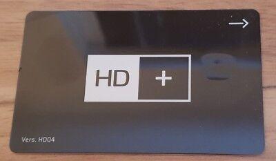 1 HD+ KARTE (Version 04) ohne Guthaben HD01 HD02 HD03 HD04 wiederaufladbar