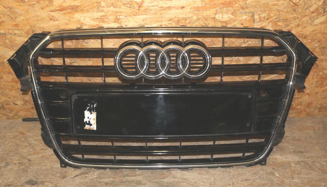 Audi A4 8K B8 orig. S-Line Kühlergrill Chrom / Klavierlack 8K0853651E ab 11 PDC