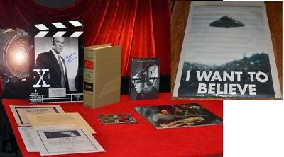 "X-FILES Signed AUTOGRAPH PHOTO, MITCH PILEGGI ""Skinner"" FRAME + PROP, COA, DVD for sale  New Port Richey"