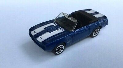 Matchbox  CAMARO SS  396 Convertible    Chevrolet     Blue Chevy