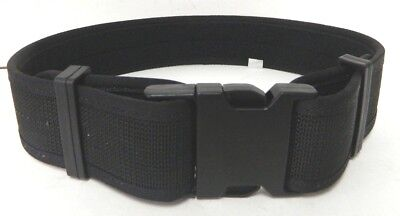 Nylon Police Security Duty Belt Black Size Xs Extra Small