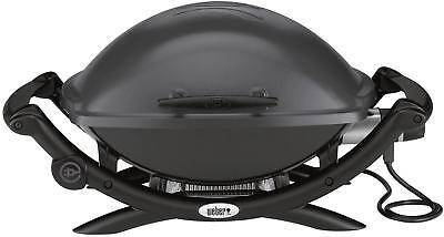 Weber Elektrogrill Untergestell : Weber grill elektrogrill q 240 dunkelgrau