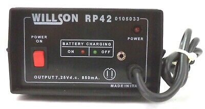 Willson Powered Air-purifying Respirator 02202a Battery Charger Pn Rp42