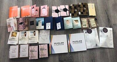 Lot of 35 Luxury Designer Perfume Samples MIU MIU Kilian Valentino YSL Dolce