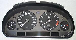 BMW E38 E39 Kombiinstrument Tacho Speedo Cluster HIGH keine Pixelfehler