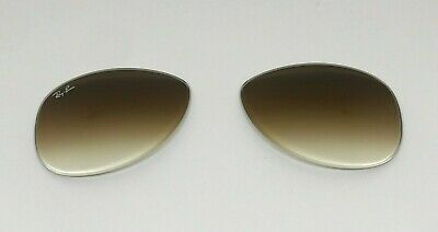 Authentic Ray Ban RB3362 Replacement Lenses 56mm Gradient Brown Glass (Ray Ban 3362 56mm)