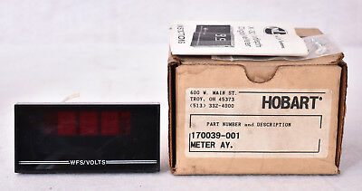 Hobart Welding Ay Digital Panel Meter 170039-001