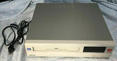 Sanyo Tls-972 Time Lapse Video Cassette Recorder Vcr 72 Hours