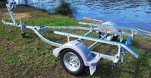 GAL BOAT TRAILER SUITS UP TO 5.0 mt ALUMINIUM HULL TARE 220 kg Erina Gosford Area Preview