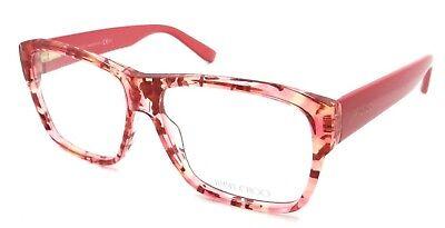 4fa313aee79 Jimmy Choo Rx Eyeglasses Frames JC 116 W13 56-14-140 Coral Spotted Made