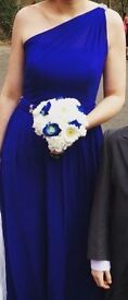 French blue bridesmaids dress size 10 plus matching flower girl dress if required