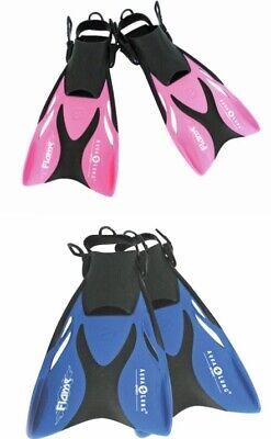 Aqualung FLAME Junior verstellbare Schwimmflossen für Kinder GR. 27-32 und 33-36