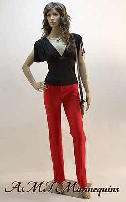 Female Display Mannequins Full Body Girl Display Plastic Manikin-p92wigs