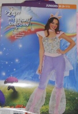 Mystical Unicorn Halloween Costume Size Junior Medium 9-11 New ](9 11 Halloween Costume)
