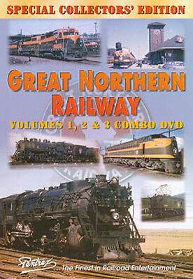 Great Northern Railway Combo DVD Pentrex Steam, Diesel, Elec