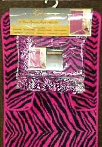 Pink Zebra Rug Ebay