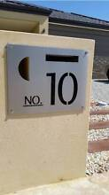 STAINLESS STEEL FACE PLATES / LETTER BOX / HOUSE NUMBER PLATES Perth CBD Perth City Preview