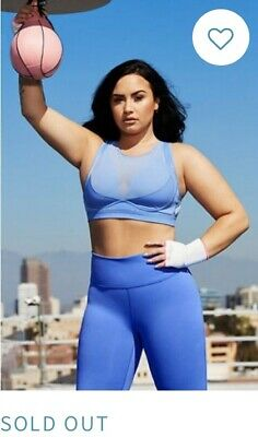Fabletics Demi Lovato 2020 New Large Leggings Medium Bra Inner Strength Outfit