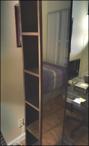 Rotating Mirror Bookshelf - 72x15x12 - FULLY ASSEMBLED!