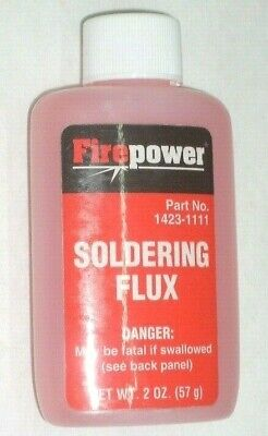 Victor Firepower 1423-1111 Liquid Soldering Flux 2 Oz Bottle