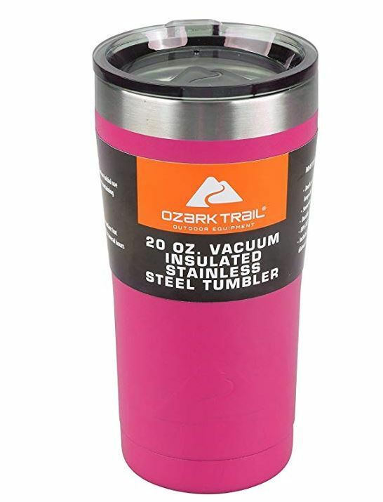 Ozark Trail 20 Oz Double Wall Vacuum Sealed Tumbler Thermos