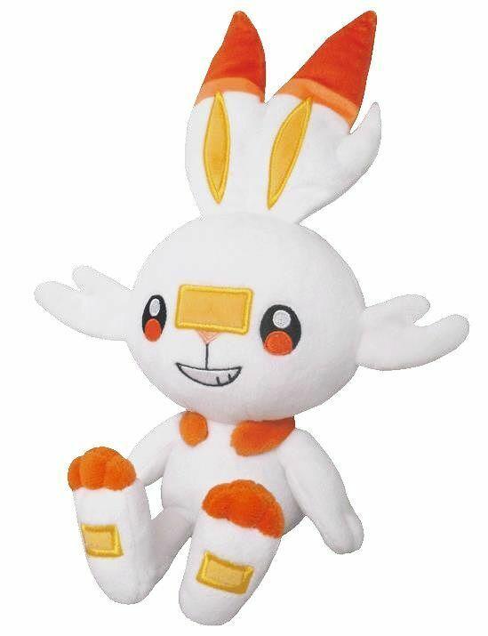 Scorbunny, Pokemon Plush, Sanei Boueki, New x1
