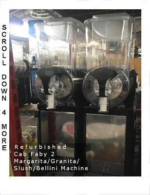 Cab Faby 2 Granita Margarita Bellini Slush Machinebrand New Mixing Bowls