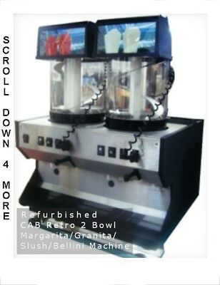 CAB Retro 2-Bowl Granita Machine, used for sale  Arlington