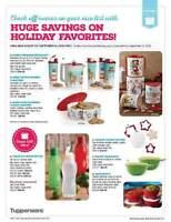 Holiday tupperware sets