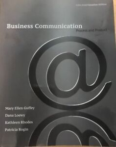 Business Communication: Process and Product 5th edition