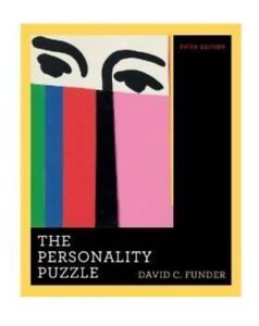 Personality Puzzle 5th ed - David C. Funder