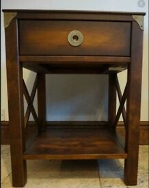 WANTED. Laura Ashley Balmoral side table(s) in chestnut finish